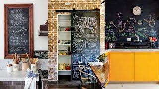 Kitchen Chalkboard Ideas. How to Make DIY Chalkboard Design for Kitchen.