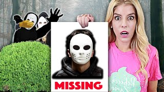 GAME MASTER is Missing after RZ Twin Hacks Channel! (Trust Fall into Mystery Pool at 3am)