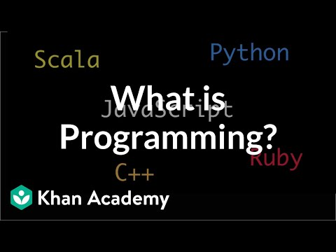 What Is Programming Video Khan Academy