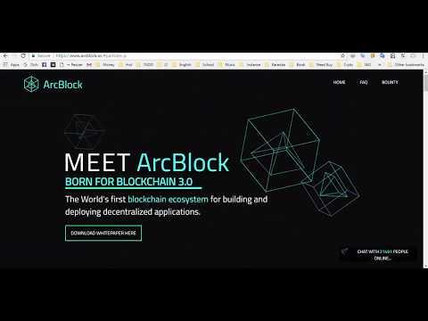 [ICO tiềm năng] ArcBlock là gì? Blockchain 3.0 là gì? Cách mua và tiềm năng của ICO ArcBlock