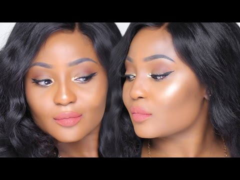 Easy Nude Natural Glow Tutorial for Brown Skin | Youkeyy