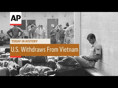 U.S. Withdraws From Vietnam - 1973 | Today In History | 29 Mar 17