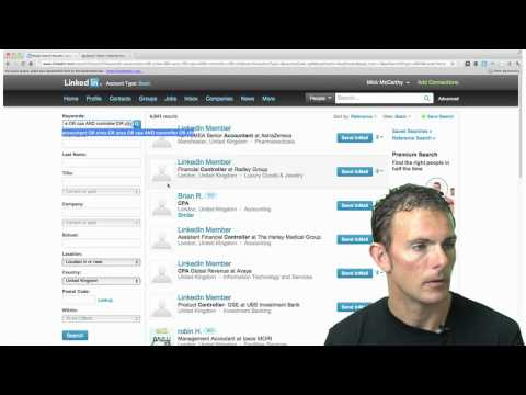How to use Boolean on LinkedIn   Sourcing - YouTube