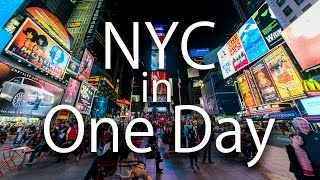 HOW TO TOUR NYC IN ONE DAY - Video Youtube
