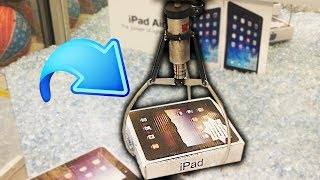 Claw Machine FILLED With IPADS!!