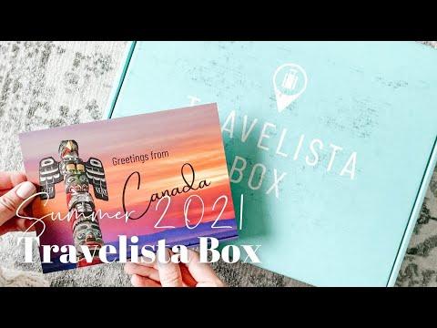Travelista Box Unboxing Summer 2021