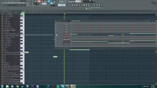 Deadmau5 - Sleepless notes in FL Studio (pad,piano,bass)