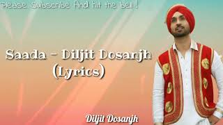 SHADAA TITLE SONG (Lyrics) - Diljit Dosanjh | Neeru Bhajwa | Latest Punjabi Folk song 2019