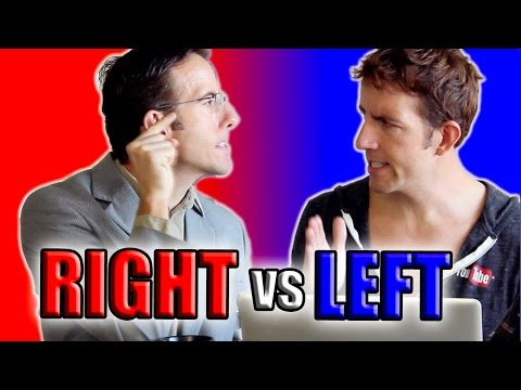 RIGHT-WING vs LEFT-WING, a conversation (by Andy McClure)