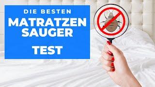 ✅ Matratze reinigen mit BESTEN MILBENSAUGER im Vergleich (Test 2021)