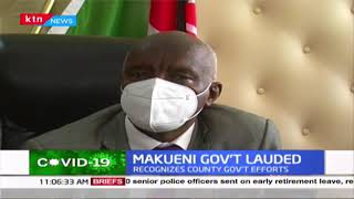 Makueni Government lauded by National Multi-agency efforts on COVID-19 eradication efforts