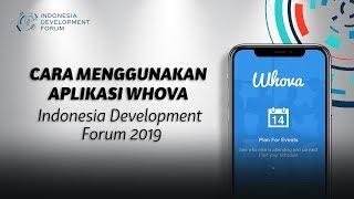 Cara Menggunakan Aplikasi Whova untuk IDF 2019