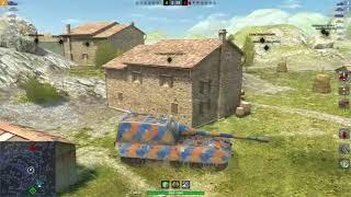 JGPZ E100 7438 DMG 5Kills | World of Tanks Blitz | Damian_pl_sniper