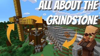 All about the Grindstone in Minecraft: Minecraft Grindstone - BEST Block In The Game? (Avomance)