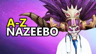 ♥ A - Z Nazeebo - Heroes of the Storm (HotS Gameplay)
