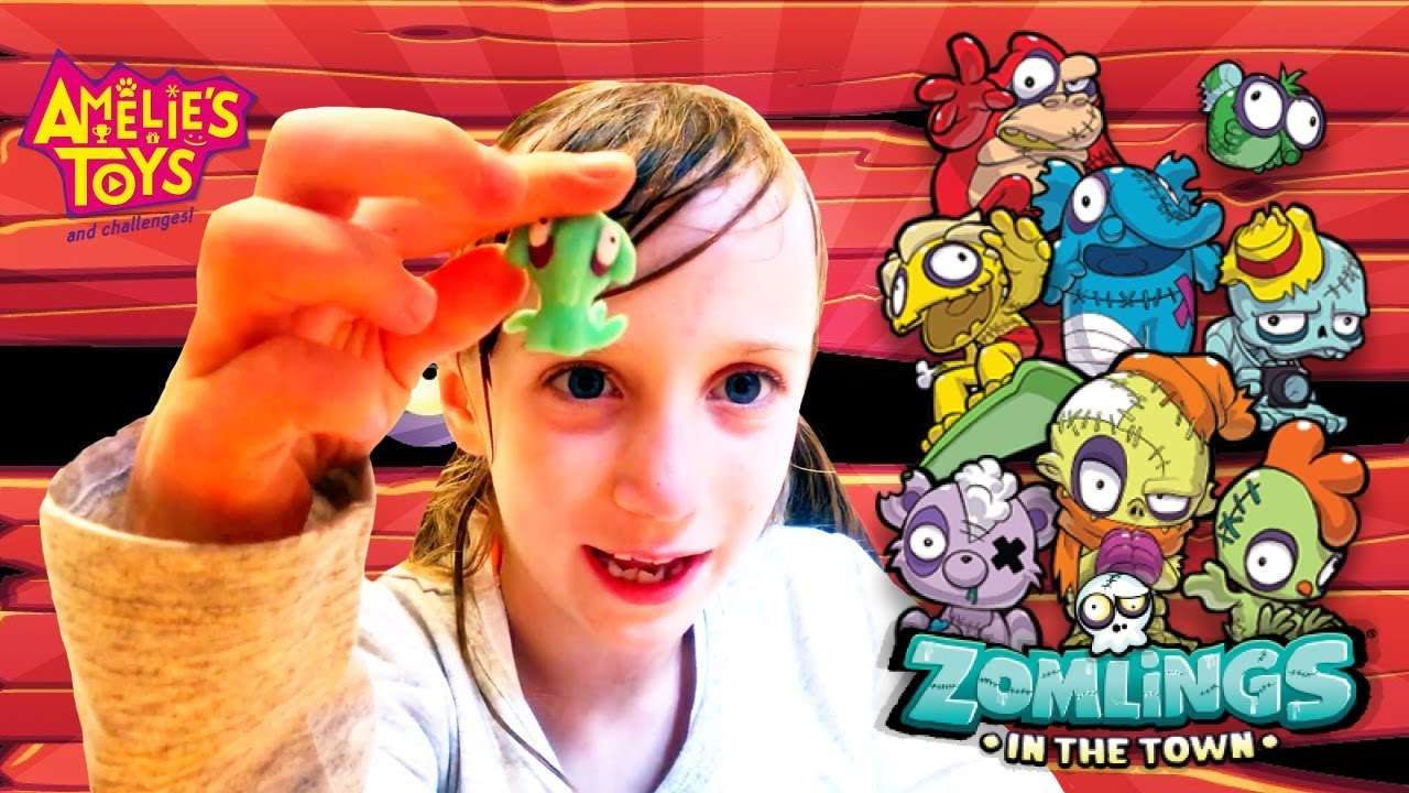 Zomlings Series 6 (In The Future) | Blind Bag Unboxing