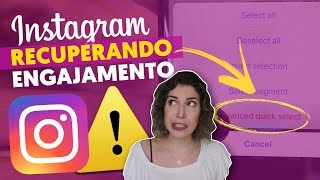 COMO RECUPERAR O ENGAJAMENTO NO INSTA | Luciana Levy