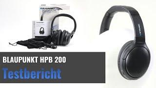 Blaupunkt HPB 200 im Test - Bluetooth 5.0 Kopfhörer mit ANC - (EDEKA-Treueaktion)