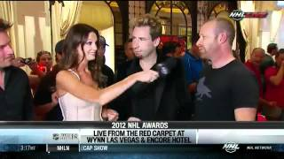 Группа Nickelback, Nickelback Interview At NHL Awards