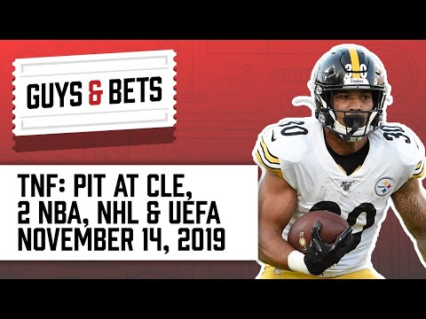 Guys & Bets: Steelers at Browns, Plus NBA and NHL Picks