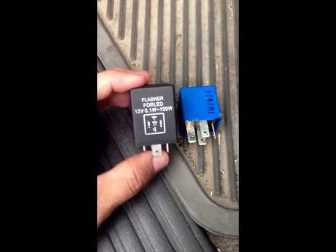 How to Change Ford Explorer 2002 Flasher Relay for Hyper Flasher Relay Corrector
