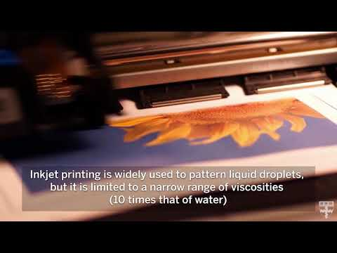 Printing with sound