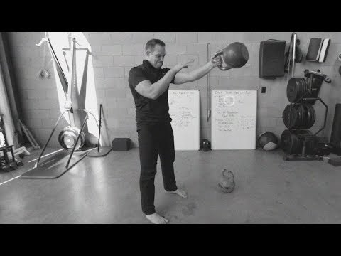 Hand to Hand Kettle Bell Swing