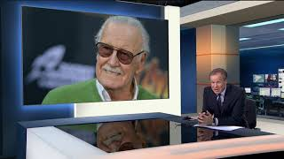 Stan Lee passes away (1922 - 2018) (USA) - ITV News - 12th November 2018