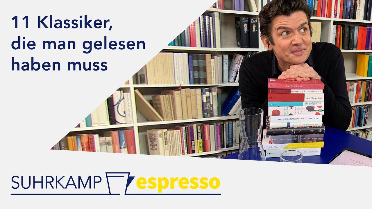 11 Klassiker, die man gelesen haben muss | <i>espresso</i> #36