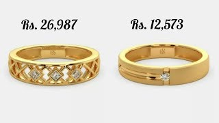 Latest Gold Ring Designs For Men With Price