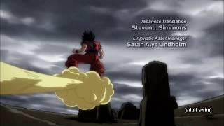 Dragon Ball Super Ending 10 (English Version) - US Toonami Edit