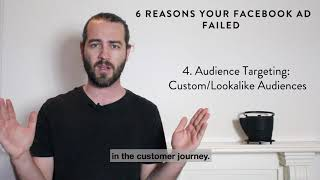 Smith Tips - Six Reasons Why Your Facebook Ad Tanked