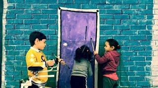 La puerta violeta Rozalen - CEIP de Fonte Escura