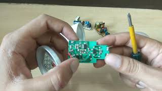 LED Bulb Component Name & Fault.!! By Easy To Electric