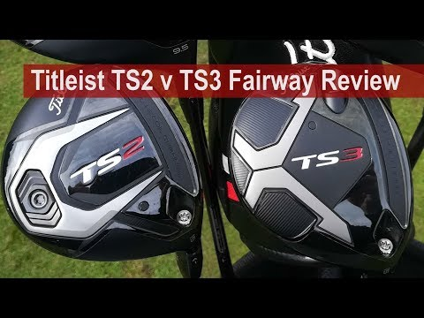 Titleist TS2 v TS3 v 917F Fairway Review by Golfalot