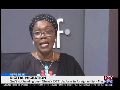 Digital Migration - News Desk on JoyNews (26-9-18)