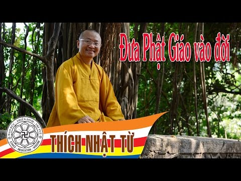 Trả lời phỏng vấn đài Đuốc Tuệ: Đưa Phật giáo vào đời (17/10/2004)