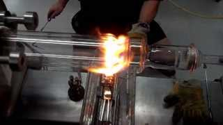 Construction of a 120mm Jacketed Column-Scientific Glassblowing.