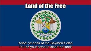 National Anthem of Belize (Land of the Free) - Nightcore Style With Lyrics