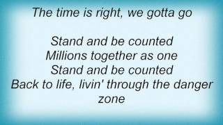 Krokus - Stand And Be Counted Lyrics