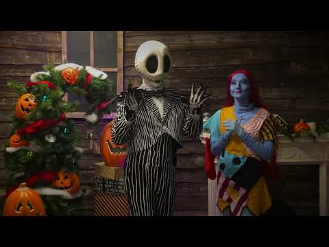 Nightmare Before Christmas Themed Characters Video
