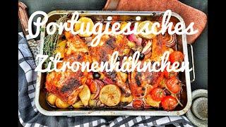 Portugiesisches Zitronenhähnchen - Urlaubsgefühl für Zuhause -- Westmünsterland BBQ