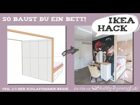 Stauraum-Bett selber bauen ★ DIY Schlafzimmer-Projekt TEIL 1