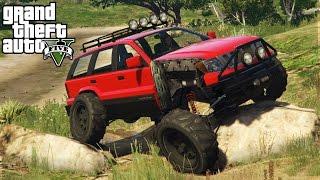 CRAZY SUSPENSION MOD! Lifted 4x4 Off-Roading, Mudding, & Hill Climbing! (GTA 5 PC Mods)