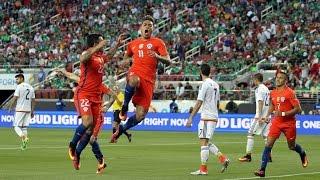 México 0 - 7 Chile   Copa América Centenario 2016   Claudio Palma