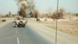 preview picture of video 'Taste of Iraq-Drive-275th MP CO Bayji Iraq 2007-2008'