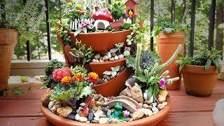 How To Make A Fairy Garden W/ Yabani Figurines