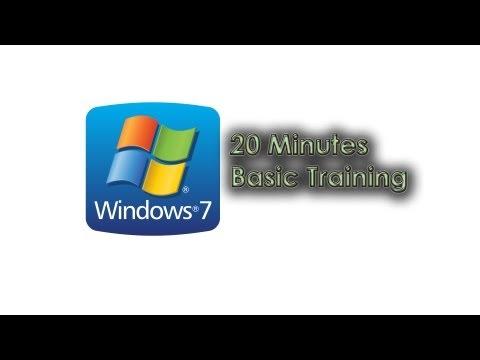 Windows 7 Total training - Basics - YouTube