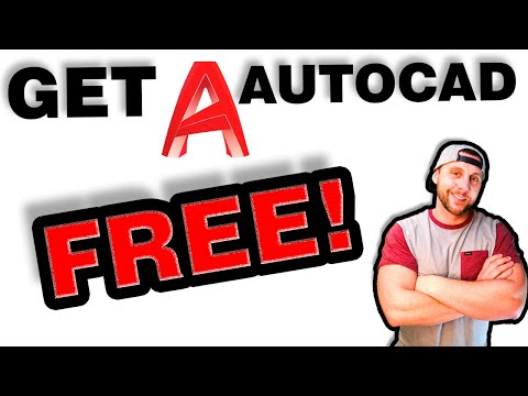 UPDATED: How to get AUTODESK AUTOCAD software for free!