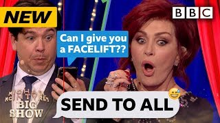 Sharon Osbourne HORRIFIED by replies to her Send To All! 😂 | Michael McIntyre's Big Show - BBC
